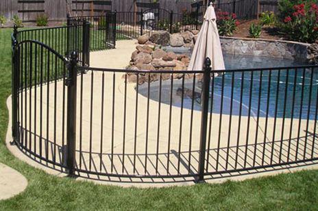 Iron Pool Fence Sacramento